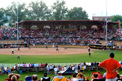 Akron Racers Firestone Stadium