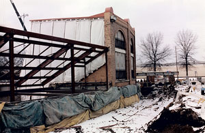 1999 Renovation of Firestone Stadium